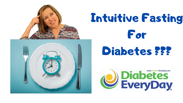 Toby standing behind a plate with a clock on it. Intuitive Fasting For Diabetes???
